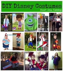DIY Homemade Disney Costumes