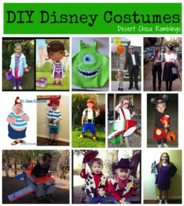 DIY Homemade Disney Costumes