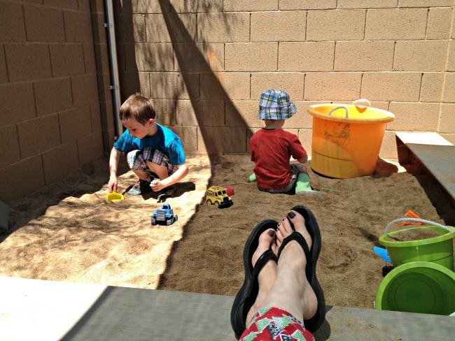 DIY Sandbox 4