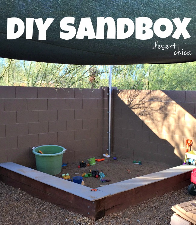 Easy DIY Sandbox