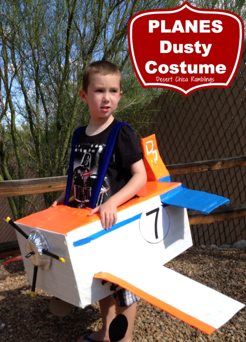 Planes Dusty Costume - Homemade disney halloween costume