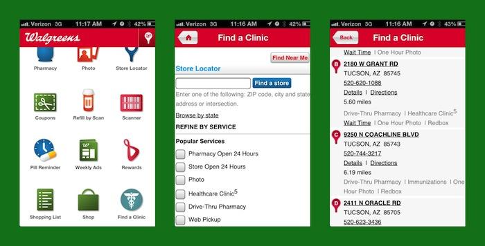 Walgreens healthcare app