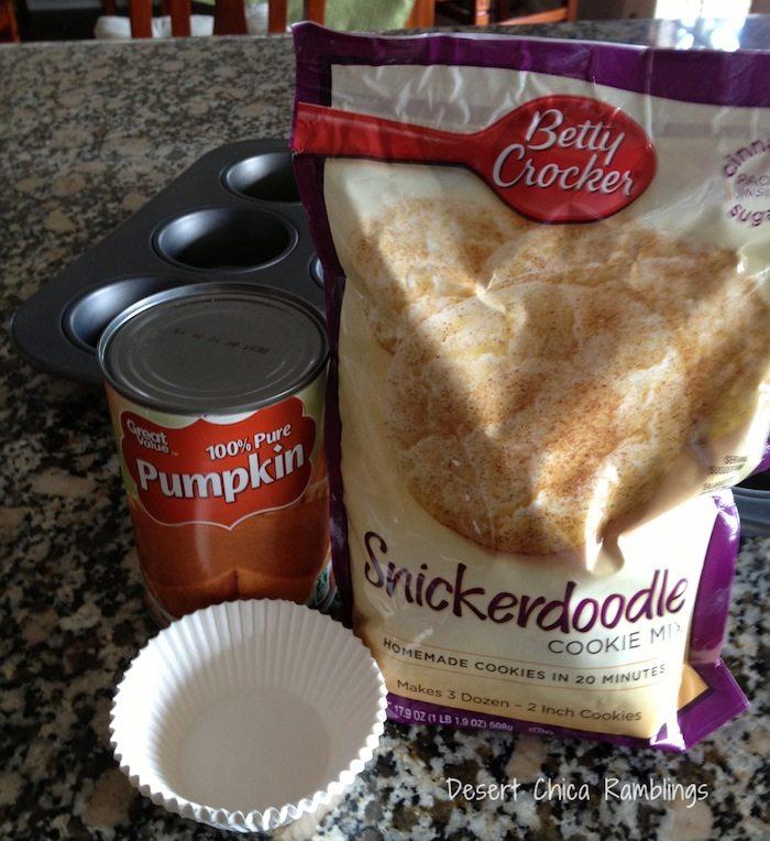Easy Pumpkin Snickerdoodle Muffins