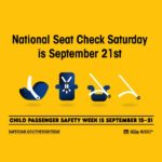 National Seat Check Saturday is this weekend!