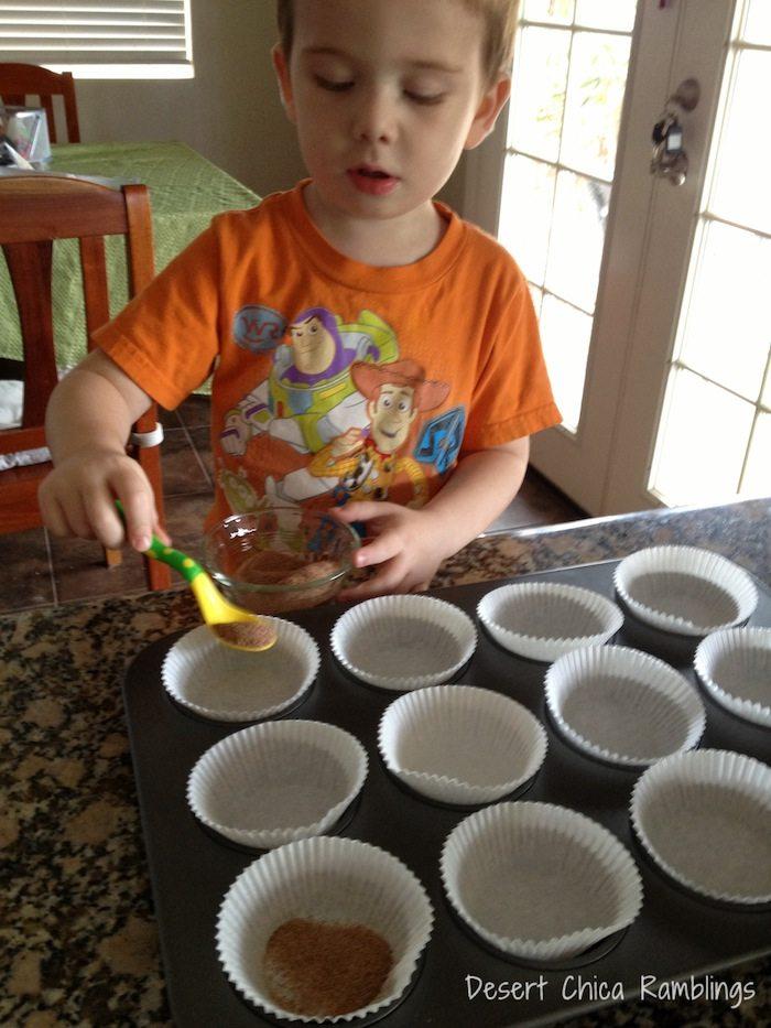 Pumpkin Snicker doodle Muffins