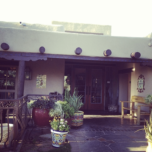 Main Courtyard at Hacienda Del Sol #Tucson