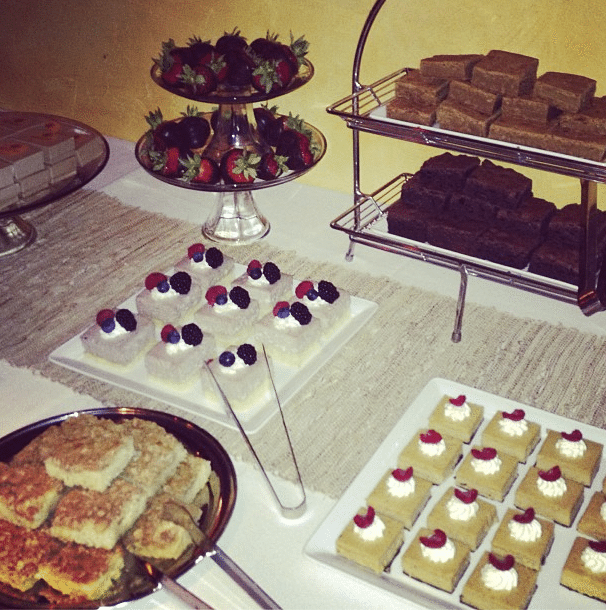 Desserts from The Grill Tucson