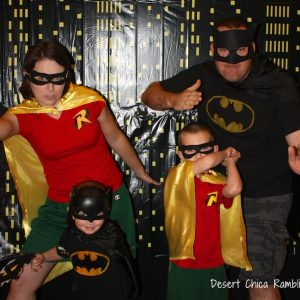 Batman and Robin Family Costumes