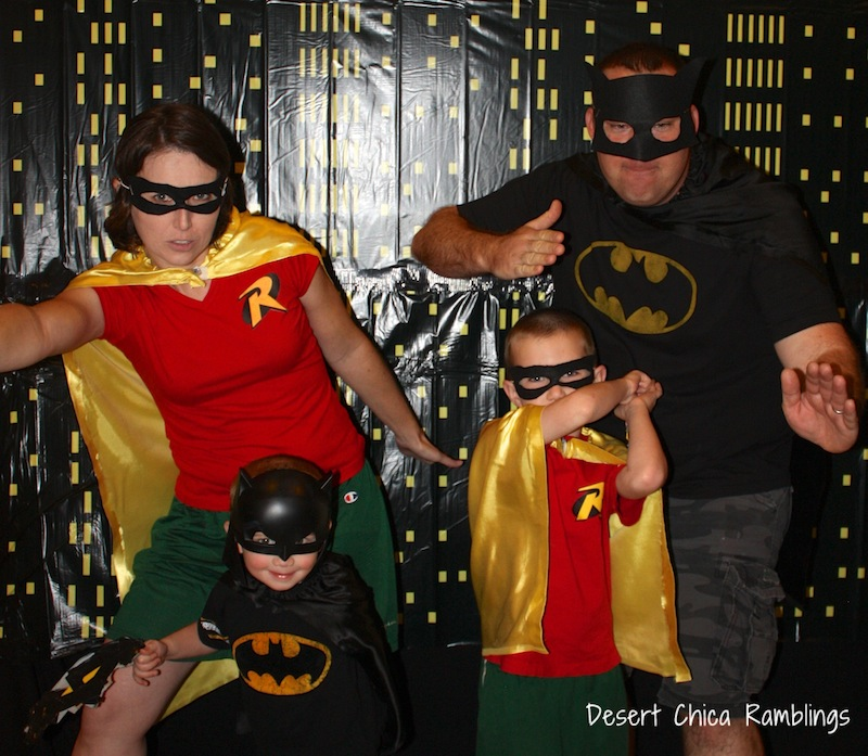 Batman and Robin Family Costumes