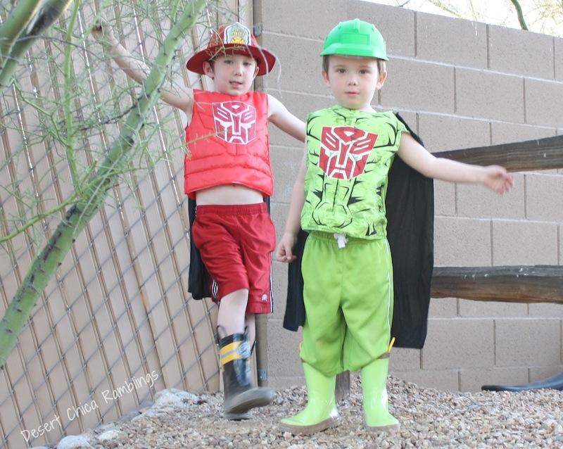 Boulder and Heatwave Costumes 2