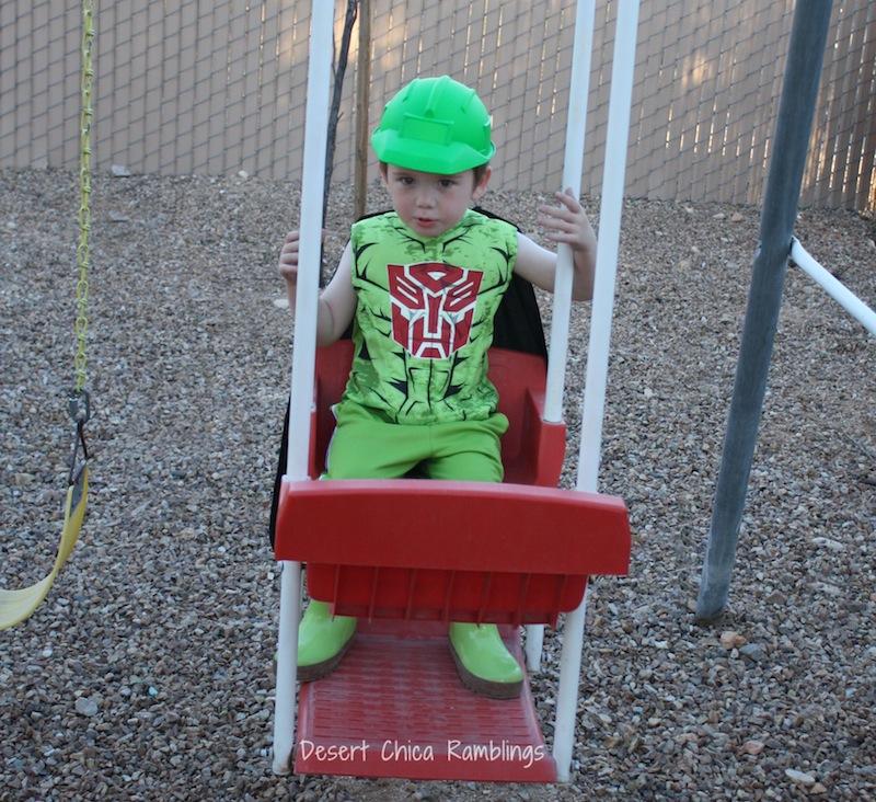 Boulder costume 2
