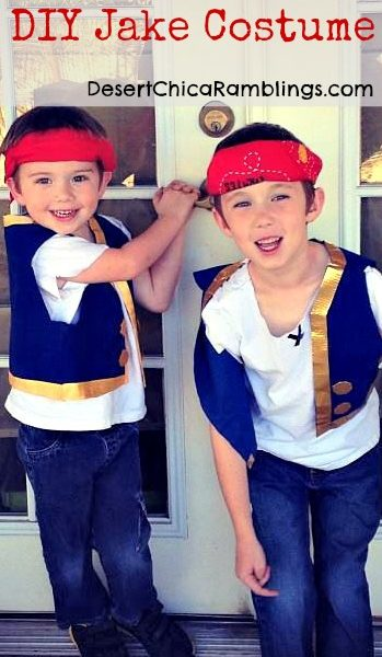 DIY Jake and the Neverland Pirates Costume