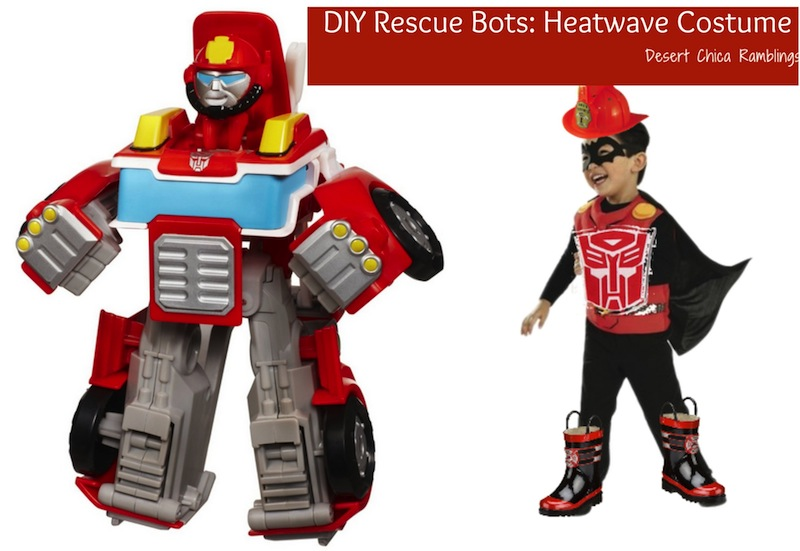DIY Transformers Rescue Bots Costume