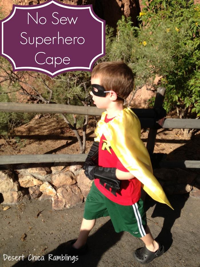 No-Sew-Superhero-Cape