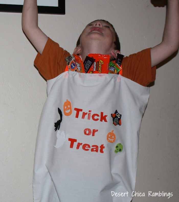 Trick or treat bag costume 2