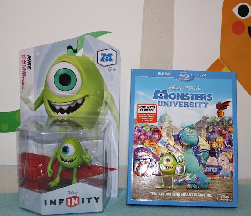 Monsters University Disney Infinity Mike Wazowski