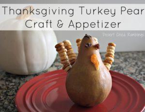 Turkey Pear Craft