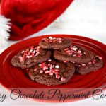 Easy Chocolate Peppermint Cookies