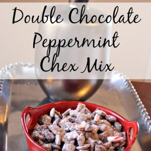 Double Chocolate Peppermint Chex Mix