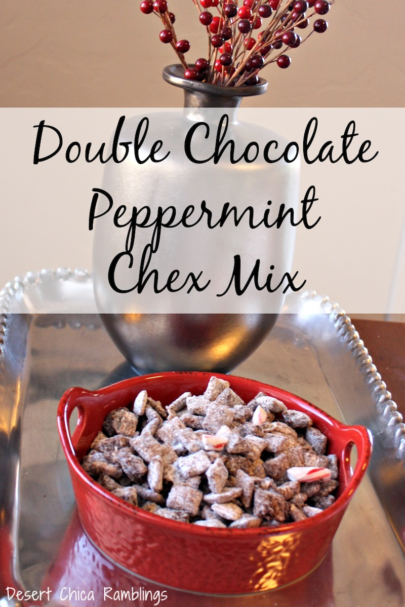 Make Reindeer Food Chex Mix