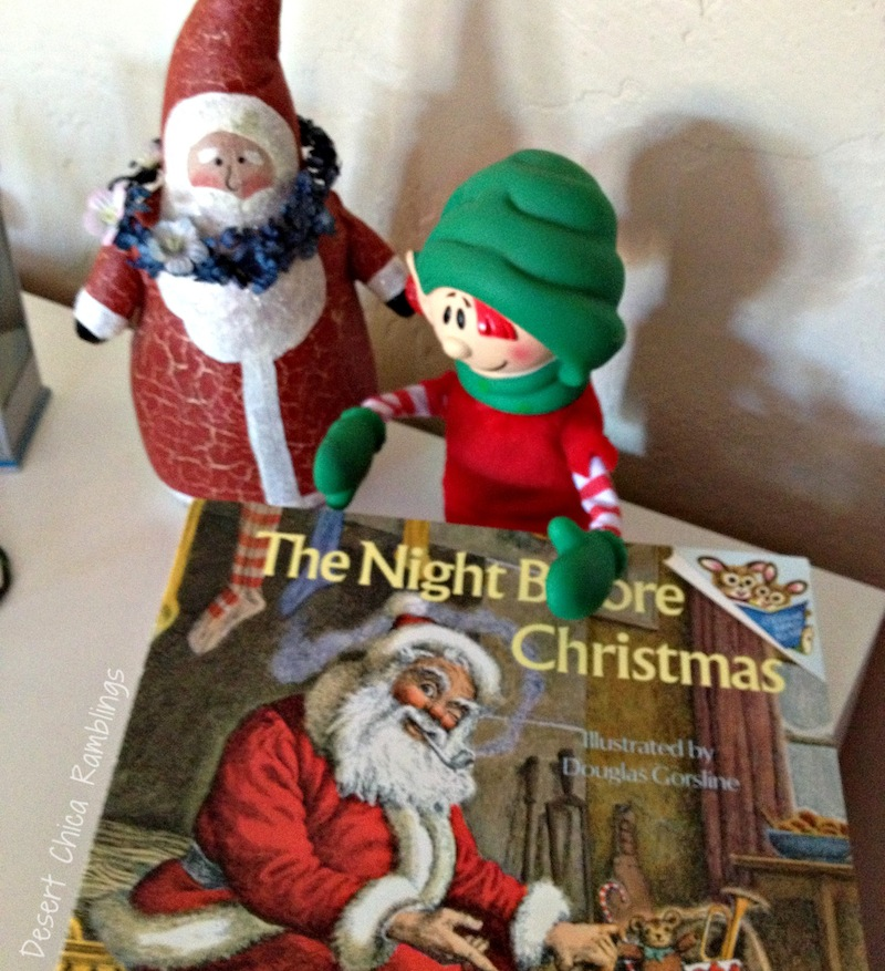 Elf on shelf christmas book