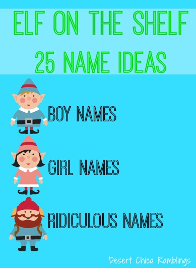 "North Pole Naming Tips for Your Scout Elf, Reindeer and Saint Bernard. by The Elf on the Shelf If you don't have to have an original Scout Elf name, try a tried and true name that's already beloved by families everywhere! View the ""Top 20 Scout Elf Names"" here."
