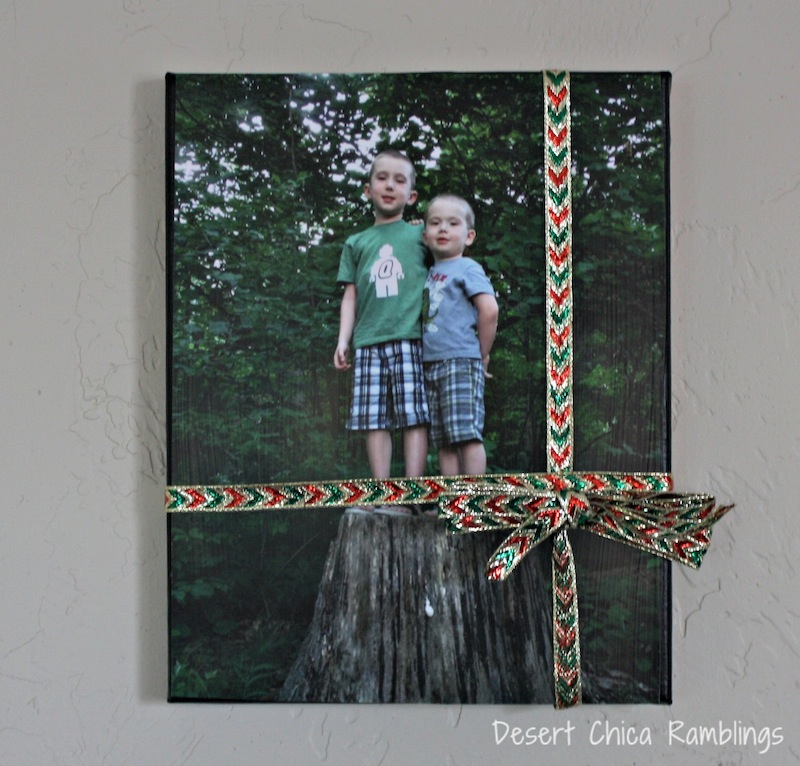 Photo Canvas Gift Project