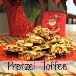 Easy Holiday Baking: Pretzel Toffee