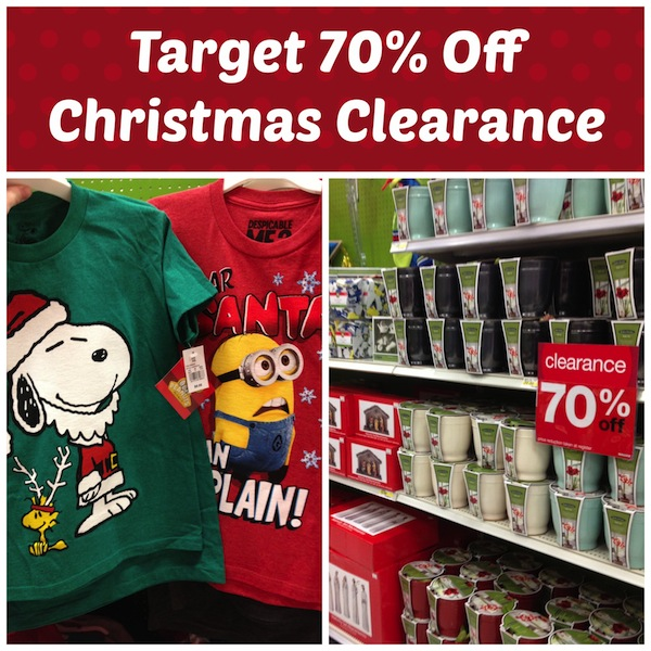 Target Christmas Clearance 70%