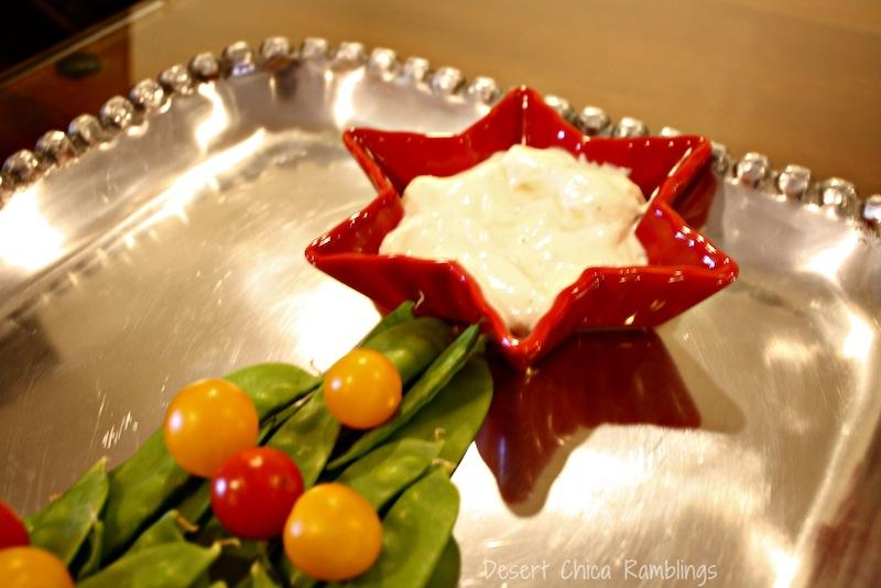 Veggie Christmas Tree 3