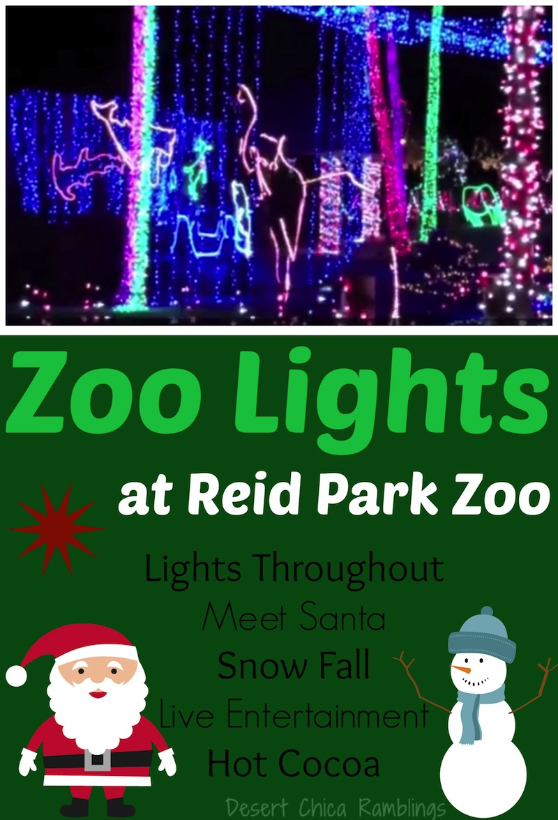 Zoo Lights at Reid Park Zoo