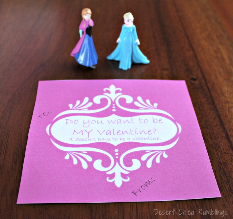 Frozen Sister Valentines
