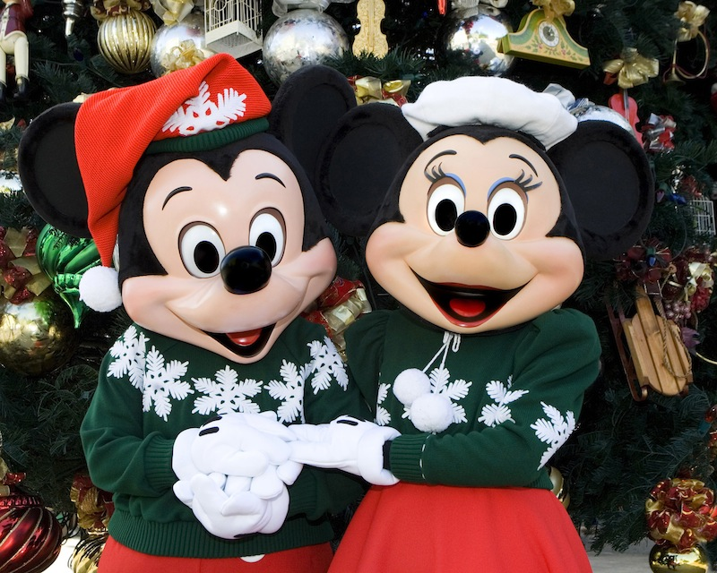 Mickey and Minnie Holiday attire