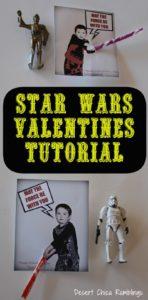 Star Wars Valentines Tutorial