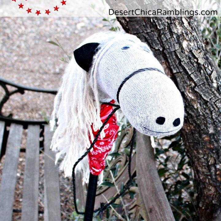 DIY Stick Horse Tutorial