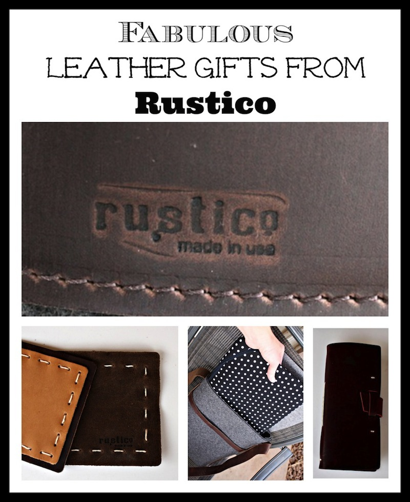 Fabulous Leather Gifts from Rustico