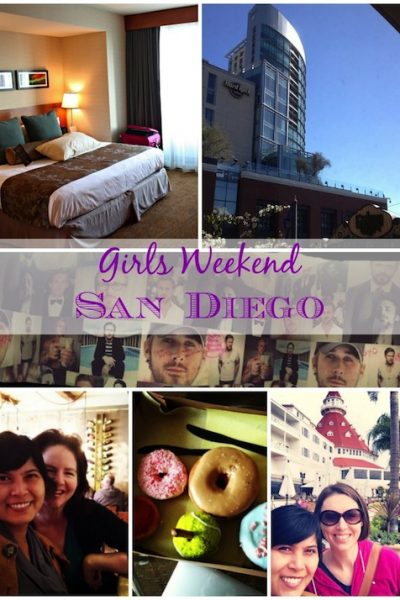 Girls Weekend in San Diego