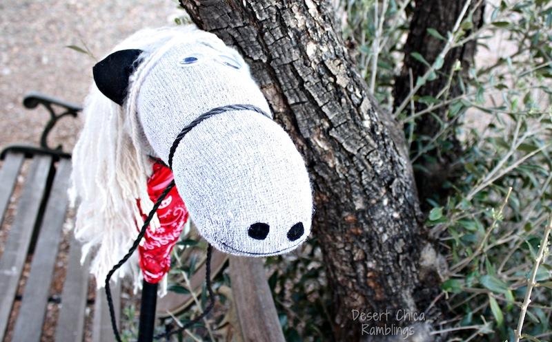Hobby stick Horse