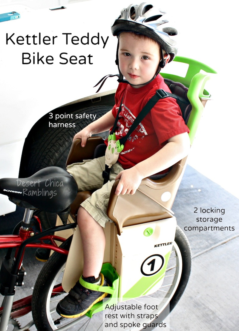Kettler Teddy Bike Seat Features