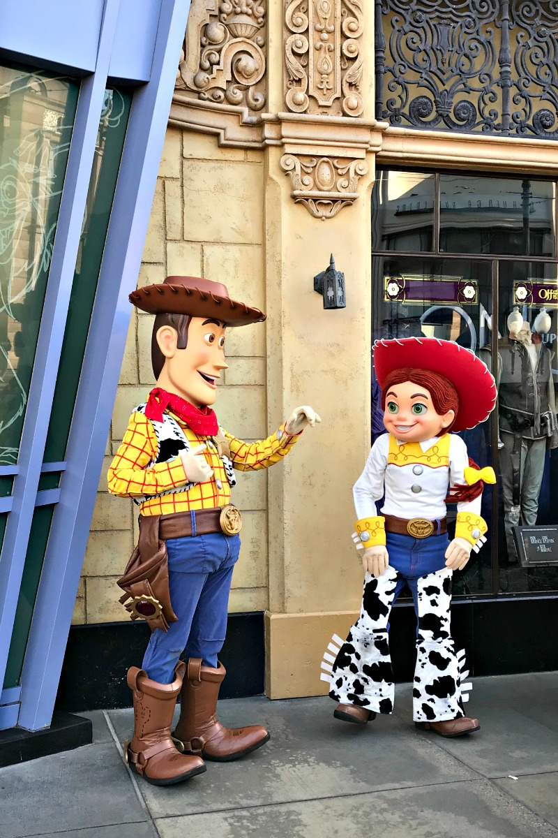 Meet Jessie and Woody at Disney California Adventure during Rodeo Break