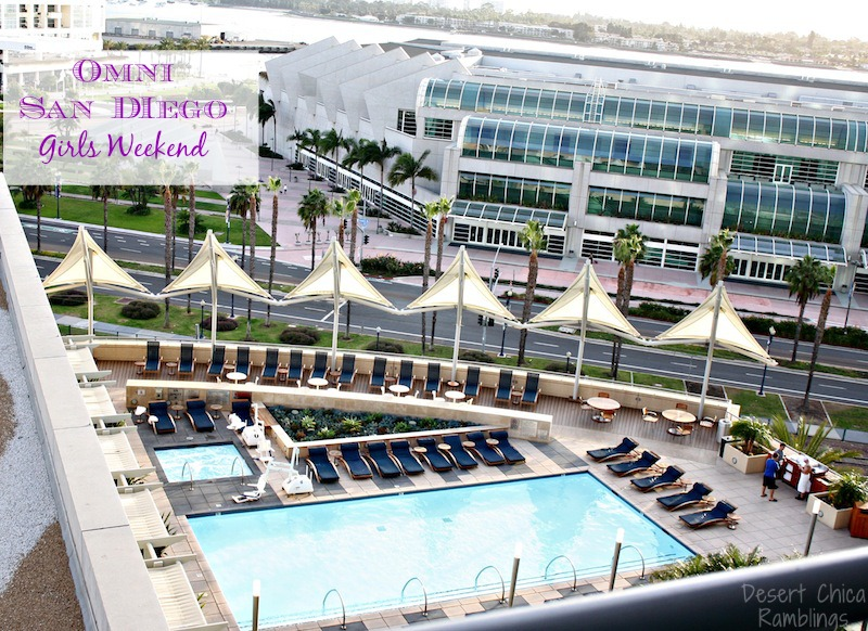 Omni Hotel San Diego Pool View