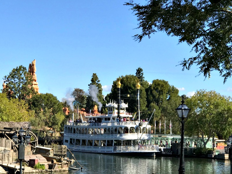 Ride the Mark Twain Riverboat at Disneyland for Rodeo Break