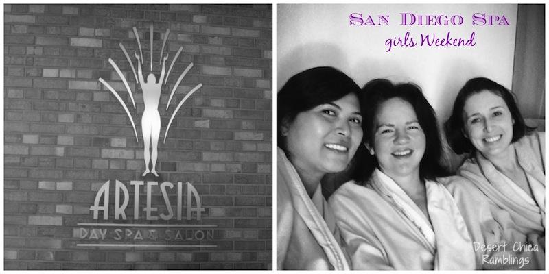 San Diego Spa Girls Weekend