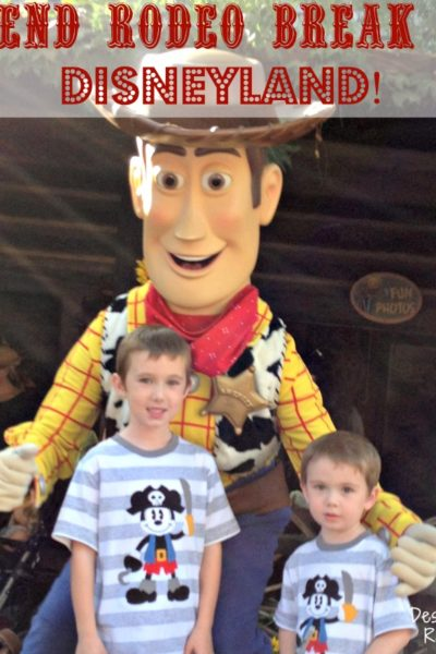 Spend Rodeo Break at Disneyland