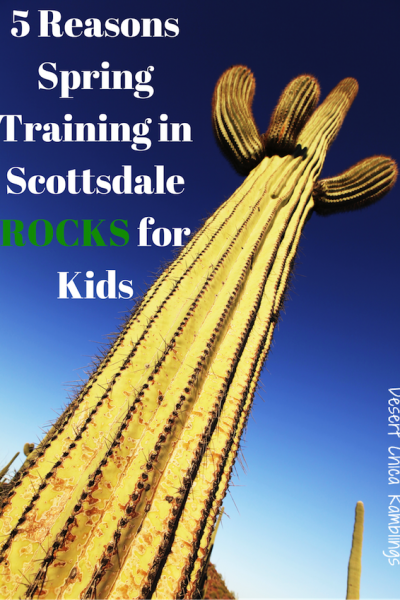 5 Reasons Spring Training in Scottsdale Rocks for Kids