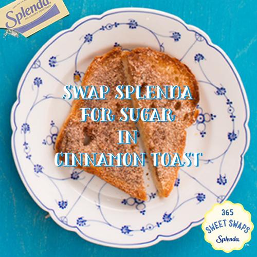 Cinnamon Toast #SweetSwaps