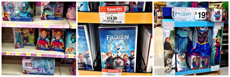 Disney Frozen the movie at Walmart #FrozenFun #shop #Cbias