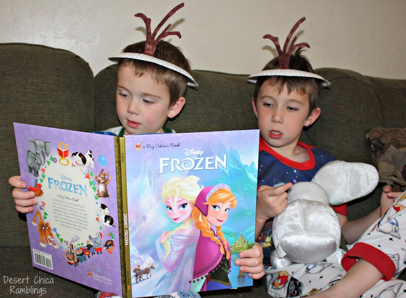 Frozen Book Olaf Hats #FrozenFun #Shop #Cbias