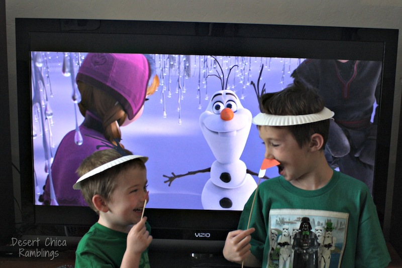 Olaf hats for Frozen movie watching #Shop #FrozenFun #Cbias