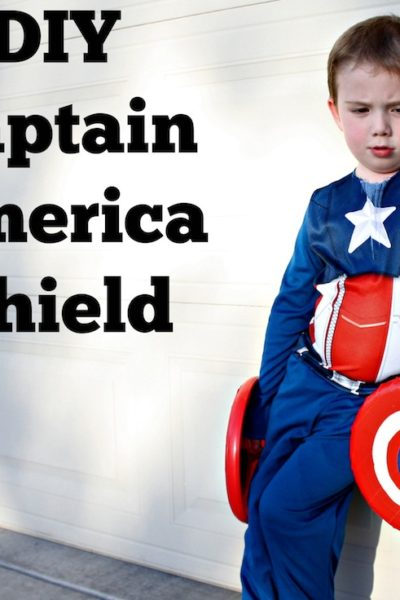 DIY Captain America Shield and Activities